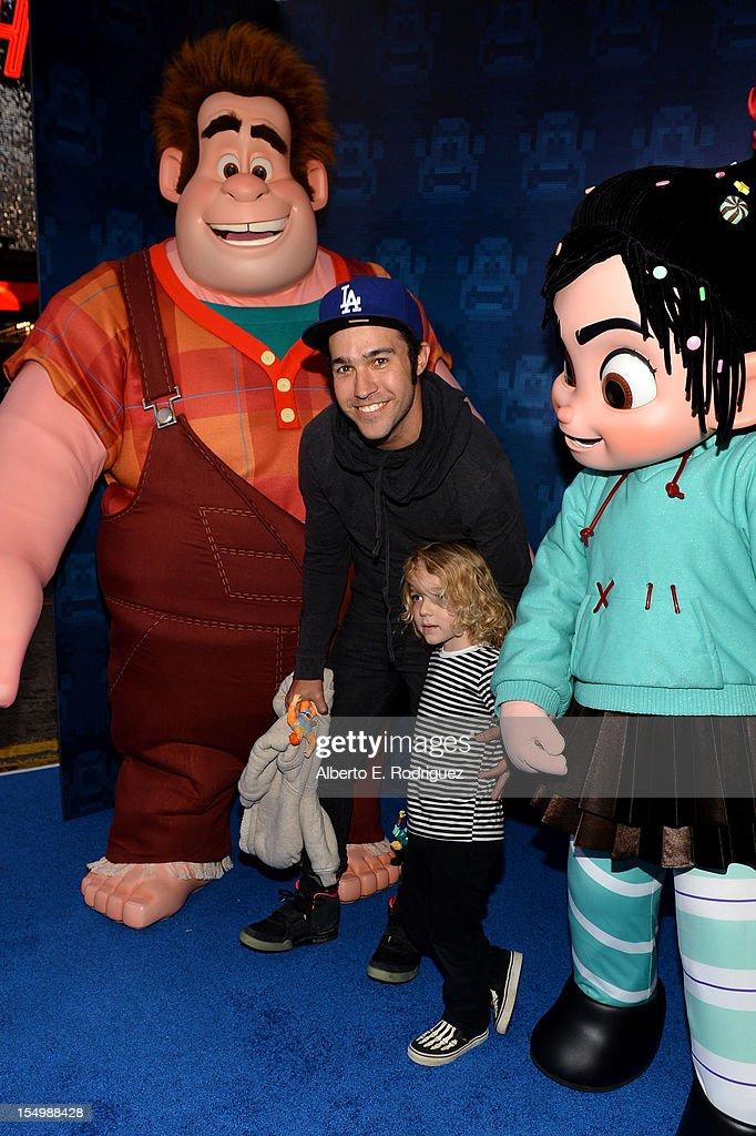 "Premiere Of Walt Disney Animation Studios' ""Wreck-It Ralph"" - Red Carpet"