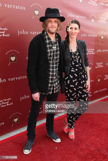 Musician Petter Ericson Stakee attends John Varvatos 8th Annual Stuart House Benefit featuring KD Lang at John Varvatos Los Angeles on March 13 2011...