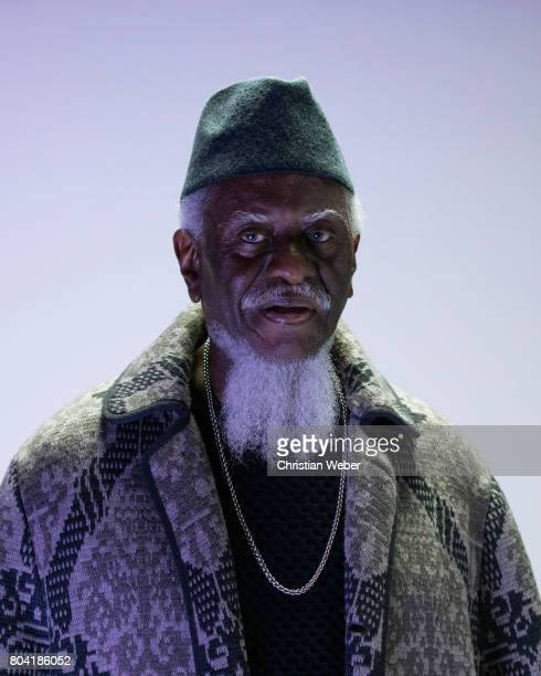 Musician Pharoah Sanders photographed for GQ Conde Nast on September 15 in New York City
