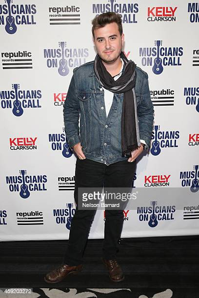 Musician Phil Barnes attends Musicians On Call Celebrates Its 15th Anniversary Honoring Kelly Clarkson and EVP of Republic Records Charlie Walk on...