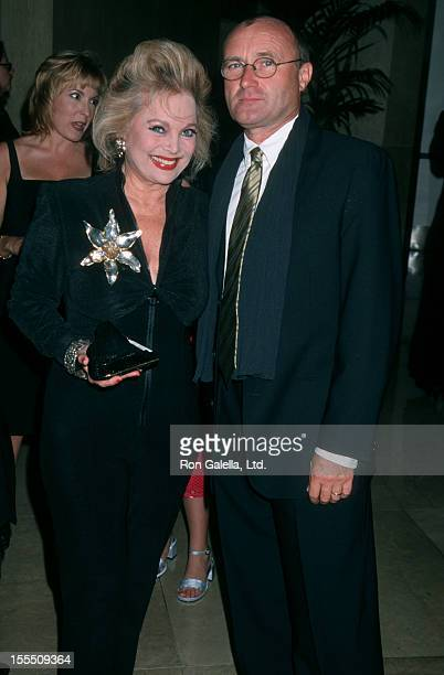 Musician Phil Collins and actress Carol Connors attending 27h Annual Vision Awards on June 17 2000 at the Beverly Hilton Hotel in Beverly Hills...