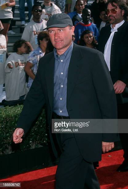 Musician Phil Collins attending the premiere of Tarzan on June 12 1999 at El Capitan Theater in Hollywood California