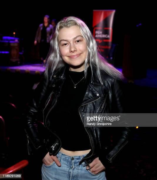 Musician Phoebe Bridgers attends PEN Presents Carmen Maria Machado at Dynasty Typewriter at the Hayworth on November 21 2019 in Los Angeles California