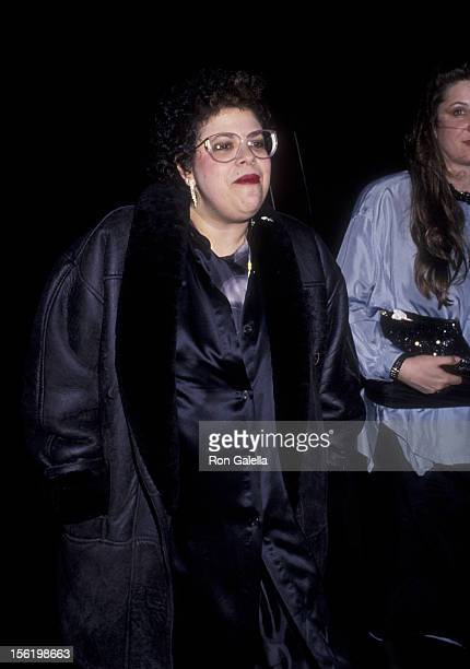 Musician Phoebe Snow attends Rock N Roll Hall Of Fame Induction Party on January 17 1990 at Sting's home in New York City