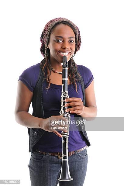 musicista - clarinetto foto e immagini stock