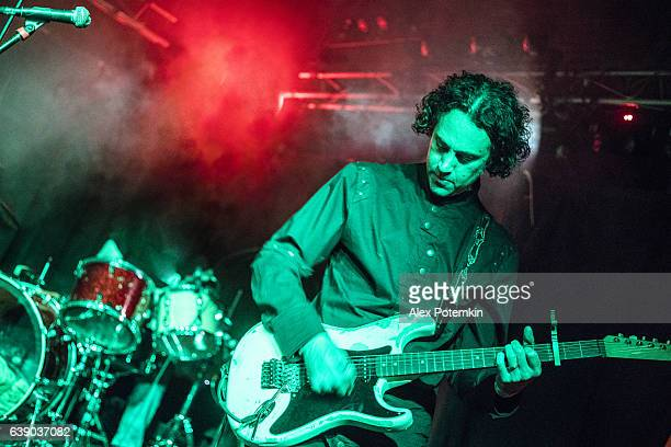 musician play guitar on the stage in a live performance - celebrities photos stock pictures, royalty-free photos & images