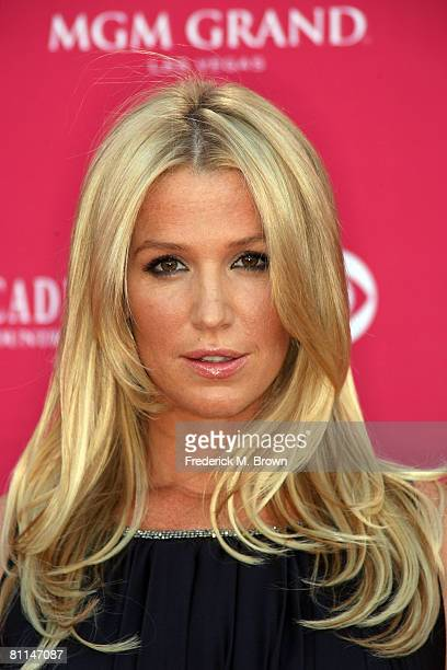 Musician Poppy Montgomery arrives at the 43rd annual Academy Of Country Music Awards held at the MGM Grand Garden Arena on May 18 2008 in Las Vegas...