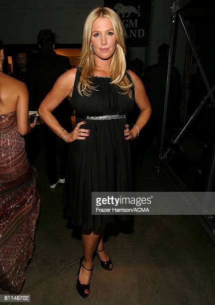ACCESS*** Musician Poppy Montgomery backstage at the 43rd annual Academy Of Country Music Awards held at the MGM Grand Garden Arena on May 18 2008 in...