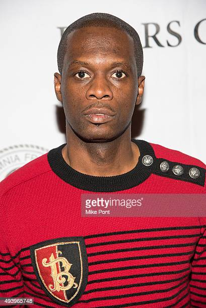 """Musician Pras Michel attends the """"Sweet Micky For President"""" New York Premiere at New York Friars Club on October 23, 2015 in New York City."""