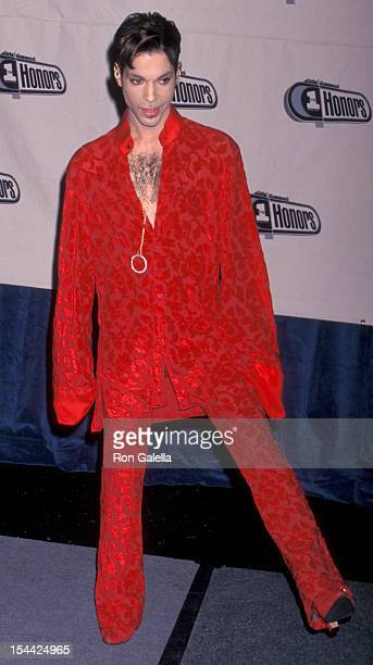 Musician Prince attending Fourth Annual VH1 Honors on April 10 1997 at the Universal Ampitheater in Universal City California