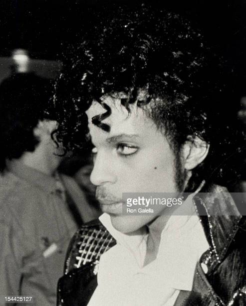 Musician Prince attending the premiere party for 'Purple Rain' on July 26 1984 at the Palace Theater in Hollywood California