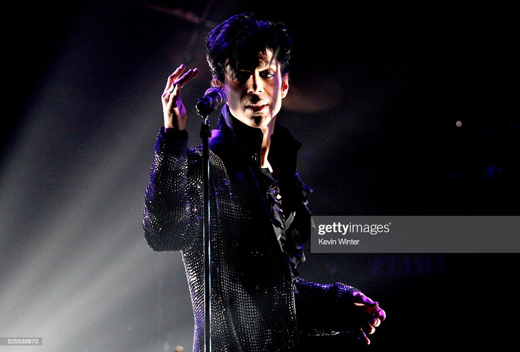 Prince Performs At The Conga Room L.A. Live : News Photo