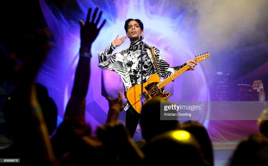 """Prince And Lotusflow3r.com Make History With """"One Night... Three Venues"""" : News Photo"""