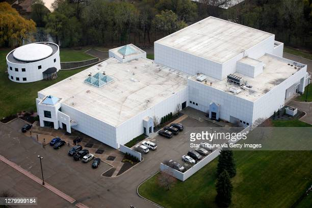 Musician Prince Rogers Nelson was found dead at his Paisley Park Studios in Chanhassen, MN. Thursday morning, April 21, 2016. Aerial photo of the...