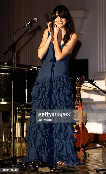 Musician Priscilla Ahn performs during The Art of Elysium 2nd Annual Heaven Gala held at Vibiana on January 10, 2009 in Los Angeles, California.