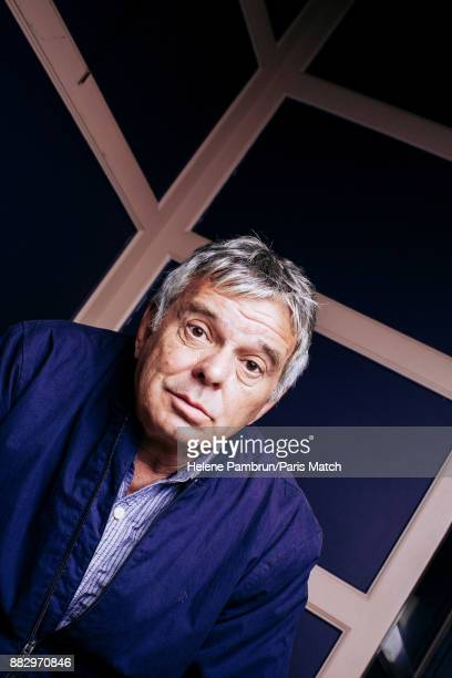 Musician producer and member of rock band the Stranglers JeanJacques Burnel is photographed for Paris Match on October 18 2017 in Paris France