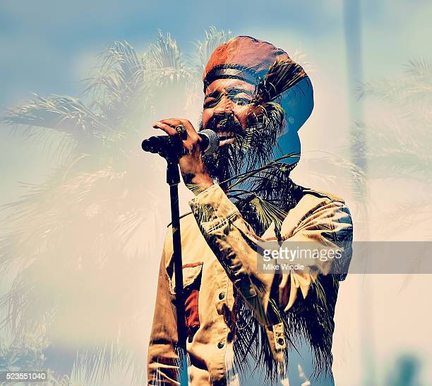 Musician Protoje performs onstage during day 2 of the 2016 Coachella Valley Music Arts Festival Weekend 2 at the Empire Polo Club on April 23 2016 in...