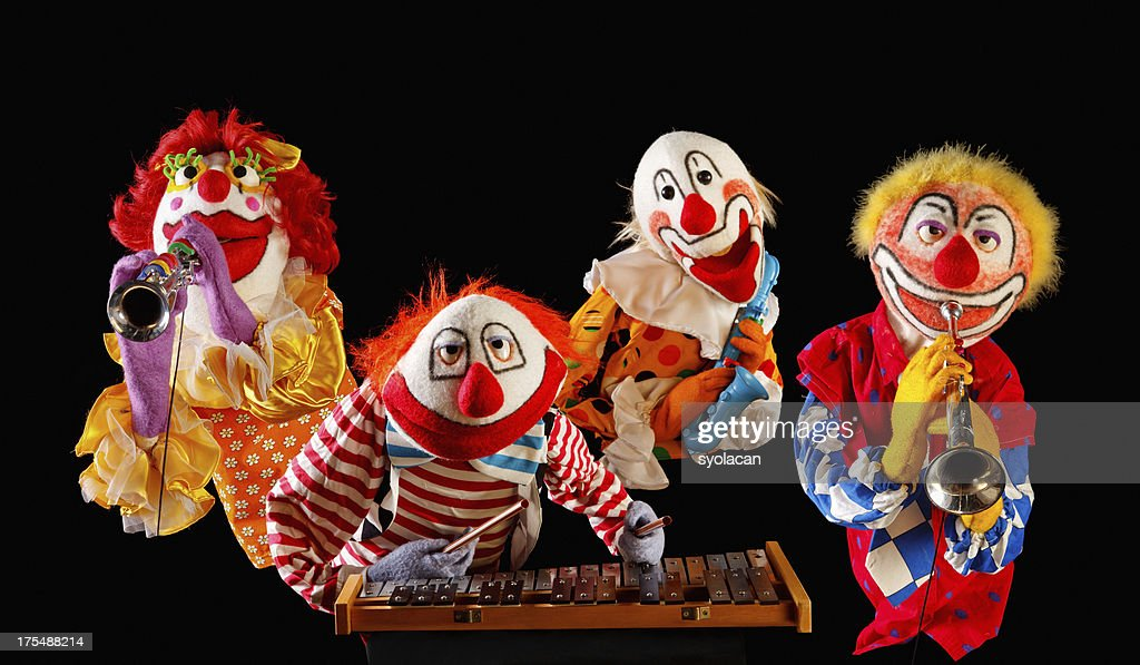 Musician Puppets : Stock Photo