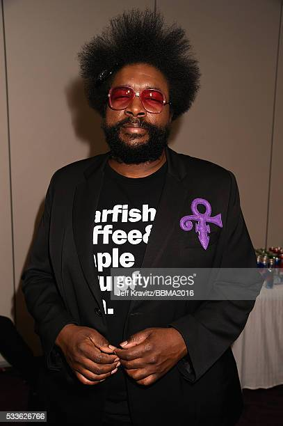 Musician Questlove attends the 2016 Billboard Music Awards at TMobile Arena on May 22 2016 in Las Vegas Nevada