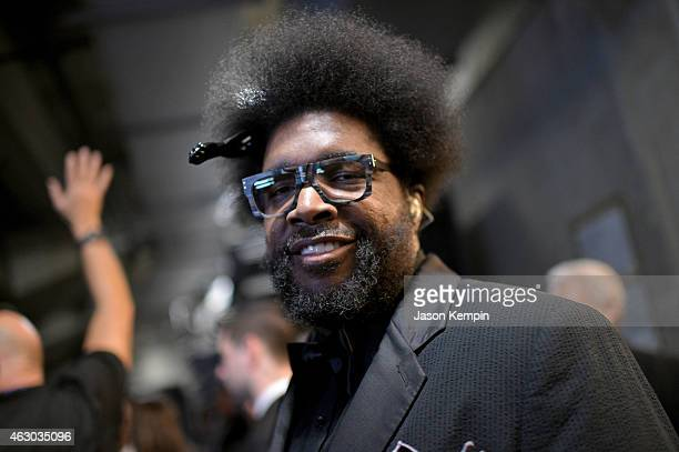 Musician Questlove attends The 57th Annual GRAMMY Awards at STAPLES Center on February 8 2015 in Los Angeles California