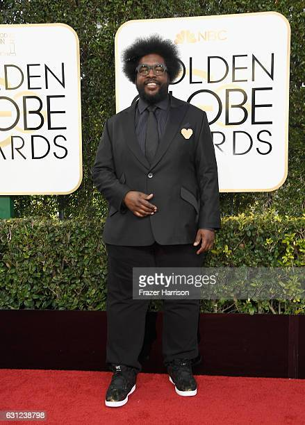 Musician Questlove attends the 74th Annual Golden Globe Awards at The Beverly Hilton Hotel on January 8 2017 in Beverly Hills California