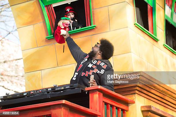 Musician Questlove attends the 89th Annual Macy's Thanksgiving Day Parade on November 26 2015 in New York City