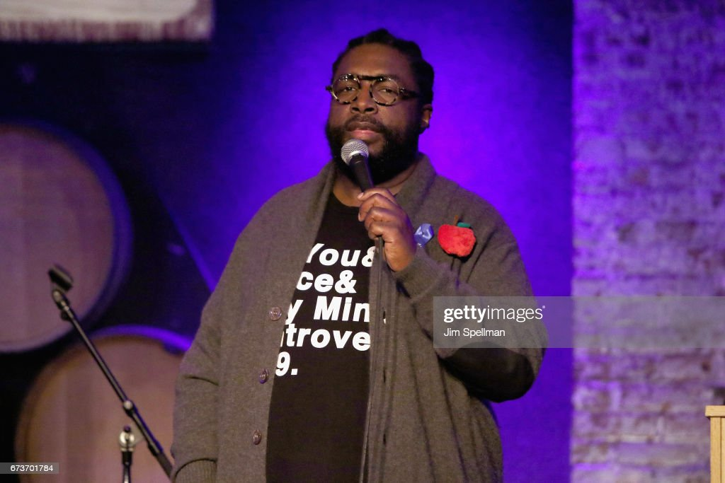 Musician Questlove attends the Aasif Mandvi & Friends All-Star Deportation Jamboree at City Winery on April 26, 2017 in New York City.