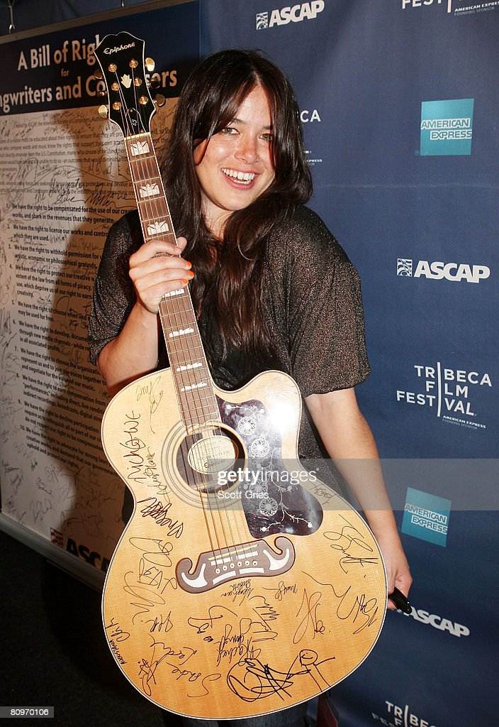 Tribeca ASCAP Music Lounge At The 2008 Tribeca Film Festival - Day 4 : Nachrichtenfoto