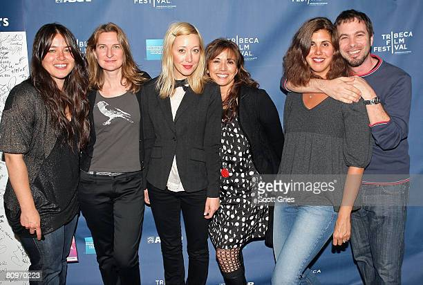 Musician Rachael Yamagata VP of Original Programs of Tribeca Enterprises Annie Leahy musician Anya Marina Loretta Munoz of ASCAP music supervisor...