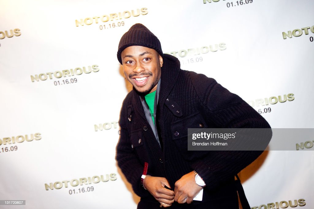 Musician Raheem DeVaughn attends a screening of 'Notorious' January 13, 2009 in Washington, DC. The film, to be released January 16, is about the life of hip-hop artist Notorious B
