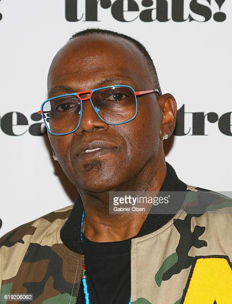Musician Randy Jackson attends Trick or treats The 6th Annual treats Magazine Halloween Party Sponsored by Absolut Elyx on October 29 2016 in Los...