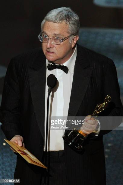 Musician Randy Newman accepts the award for Best Achievement in Music Written for Motion Pictures Original Song for the song 'We Belong Together'...