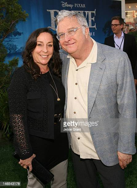 Musician Randy Newman and Gretchen Preece arrive at Film Independent's 2012 Los Angeles Film Festival Premiere of Disney Pixar's 'Brave' at Dolby...