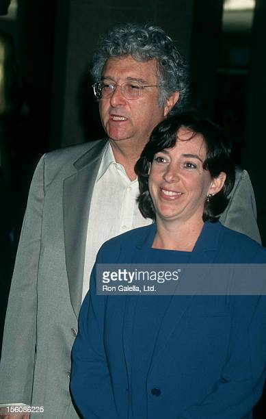 Musician Randy Newman and wife Gretchen Newman attending 16th Annual Academy Awards Luncheon on March 11 1997 at the Beverly Hilton Hotel in Beverly...