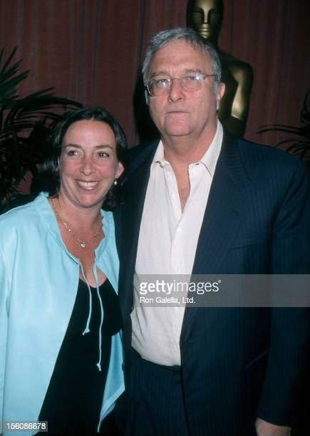 Musician Randy Newman and wife Gretchen Newman attending 19th Annual Academy Awards Nominees Lucheon on March 13 2000 at the Beverly Hilton Hotel in...