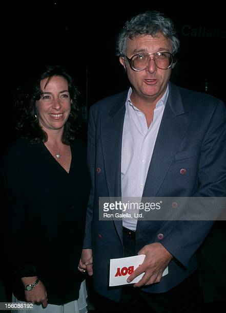 Musician Randy Newman and wife Gretchen Newman attending the world premiere of 'Tommy Boy' on March 29 1995 at Paramount Studios in Hollywood...