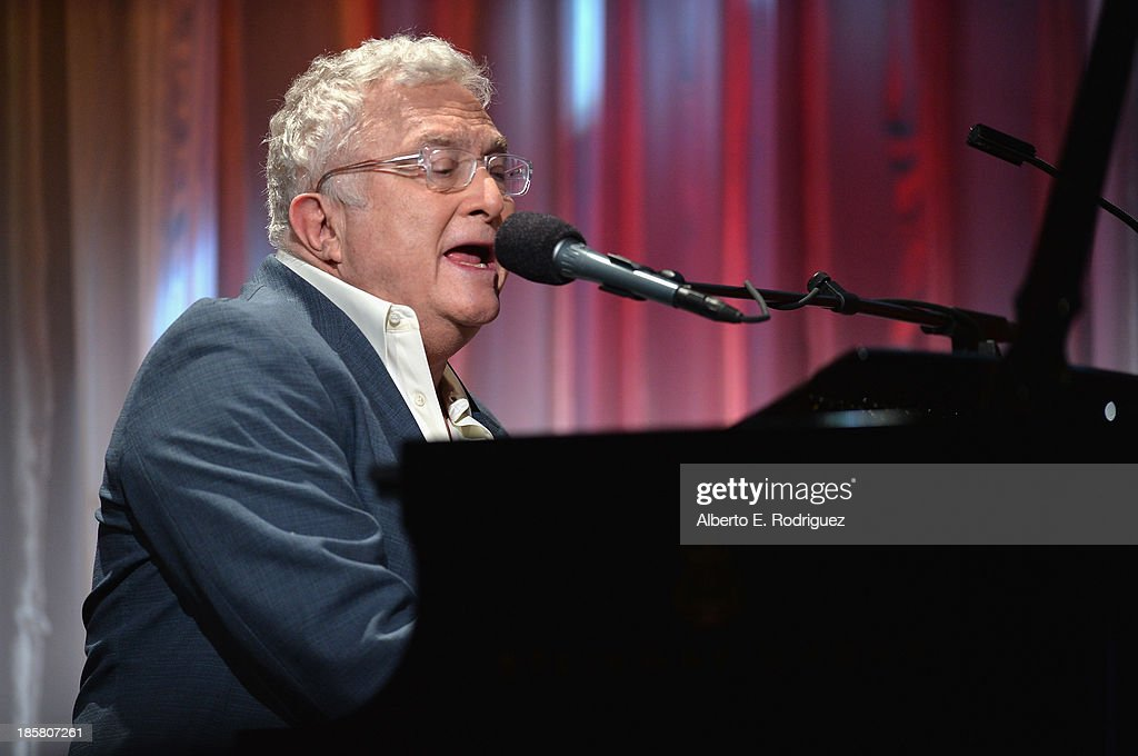 Musician Randy Newman performs at the 2013 UCLA Neurosurgery Visionary Ball at the Beverly Wilshire Four Seasons Hotel on October 24, 2013 in Beverly Hills, California.