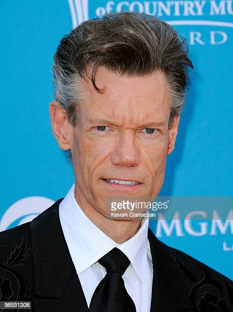 Musician Randy Travis arrives for the 45th Annual Academy of Country Music Awards at the MGM Grand Garden Arena on April 18 2010 in Las Vegas Nevada