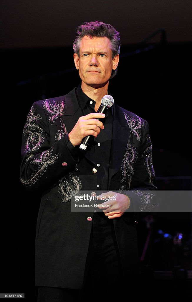 Musician Randy Travis performs during the 4th Annual ACM Honors at the Ryman Auditorium on September 20, 2010 in Nashville, Tennessee.