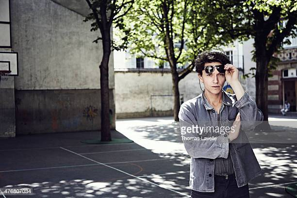 Musician Raphael is photographed for Gala on April 21 2015 in Paris France