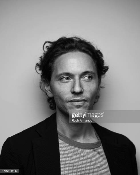 Musician Raphael is photographed for Self Assignment on June 2018 in Cabourg France