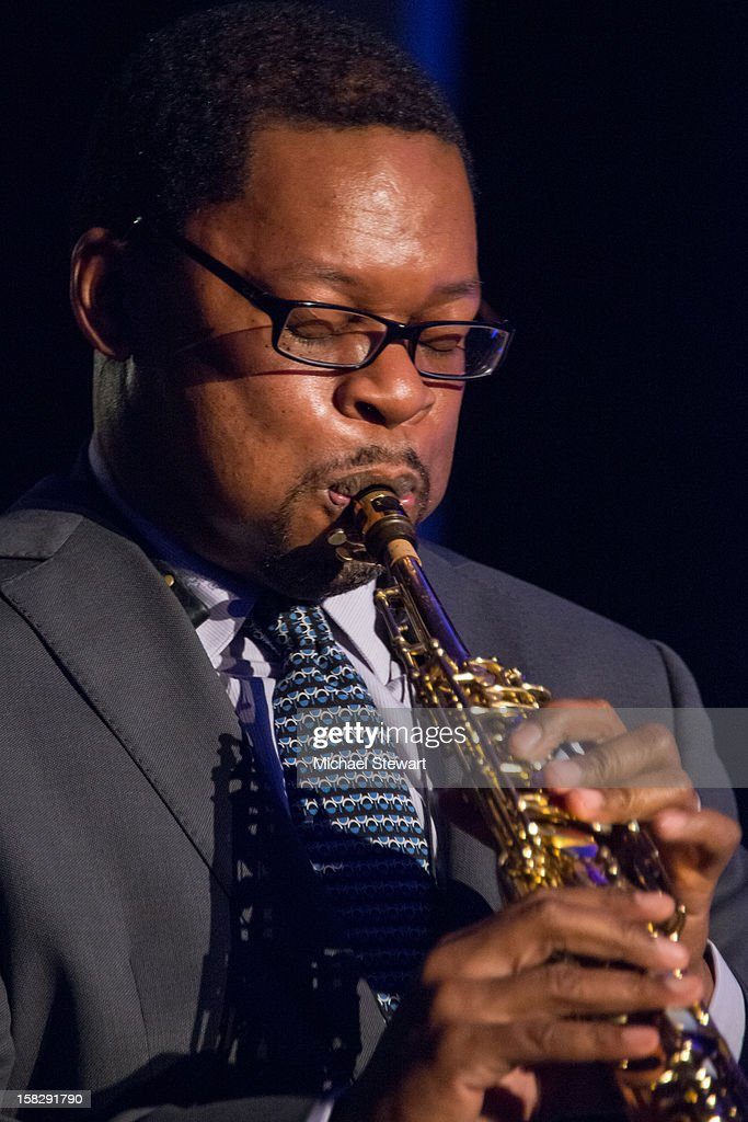 Musician Ravi Coltrane attends The Museum of Modern Art's Jazz Interlude Gala after party at Museum of Modern Art on December 12, 2012 in New York City.