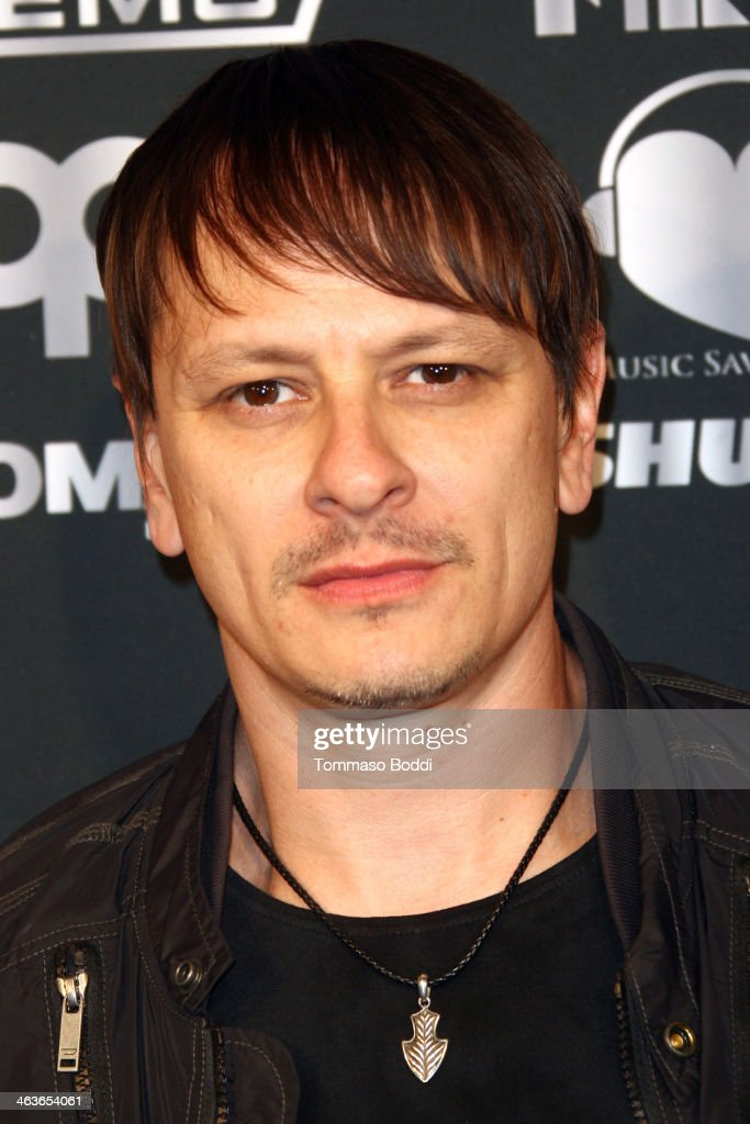 Musician Ray Luzier attends the Guitar Center's 25th annual Drum-Off grand finals held at Club Nokia on January 18, 2014 in Los Angeles, California.