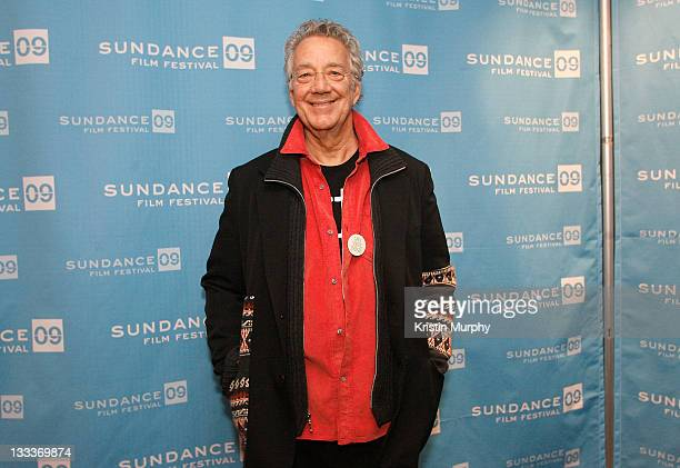 Musician Ray Manzarek of The Doors attends the premiere of 'When You're Strange' during the 2009 Sundance Film Festival at Temple Theatre on January...