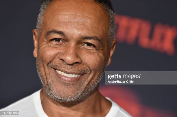 Musician Ray Parker Jr arrives at the premiere of Netflix's 'Stranger Things' Season 2 at Regency Bruin Theatre on October 26 2017 in Los Angeles...