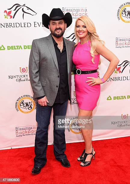 Musician Ray Scott and Stacey Beard attend the 141st Kentucky Derby Unbridled Eve Gala at Galt House Hotel Suites on May 1 2015 in Louisville Kentucky