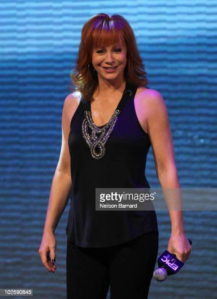 Musician Reba McEntire attends the Norwegian Epic cruise ship christening at Pier 88 on July 2 2010 in New York City