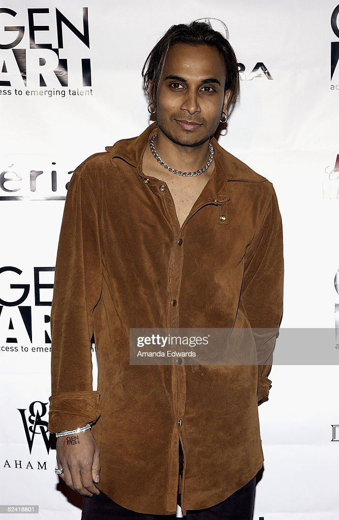 Musician Reggie Benjamin arrives at the Gen-Art Fall 2005 LA Fashion Week Kick Off Party on March 14, 2005 at the MOCA Geffen Contemporary Museum in Los Angeles, California.