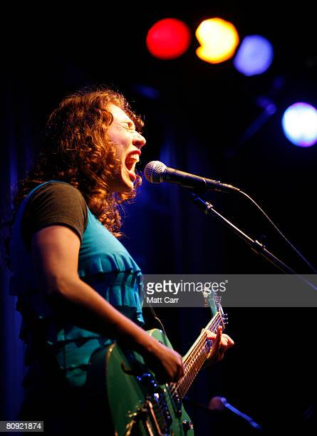 Musician Regina Spektor performs during the Tribeca ASCAP Music Lounge at the 2008 Tribeca Film Festival on April 29 2008 in New York City