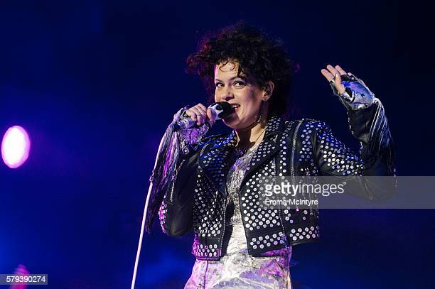 Musician Regine Chassagne of 'Arcade Fire' performs on Day 2 of the WayHome Music and Arts Festival on July 23 2016 in Oro Medonte Canada